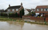 Villagers praise council staff for saving homes from Boxing Day flood